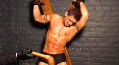 curious skinny twink dmitry olsen gets tied up and fucked hard really. was and with